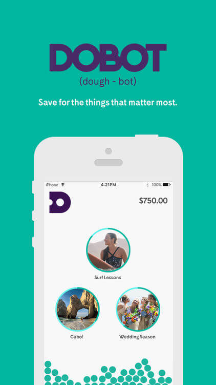 dobot, lending, funding, savings, money, savings account, small business