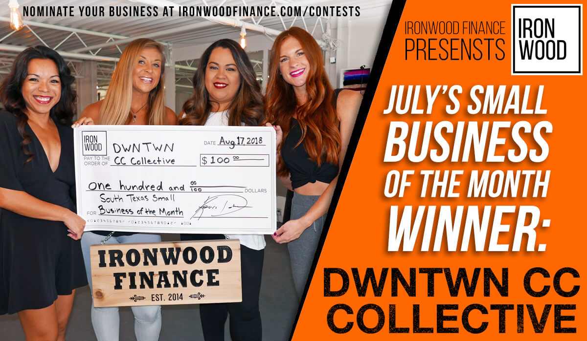 2018 Small Business of the Year, lending, funding, contest, small business, yoga time studios, sunkissed cc, beau monde hair gallery
