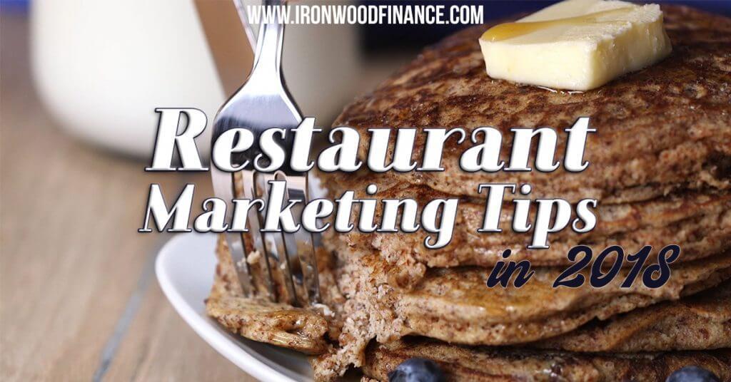 Restaurant Marketing Tips, start a restaurant, business financing, working capital, funding